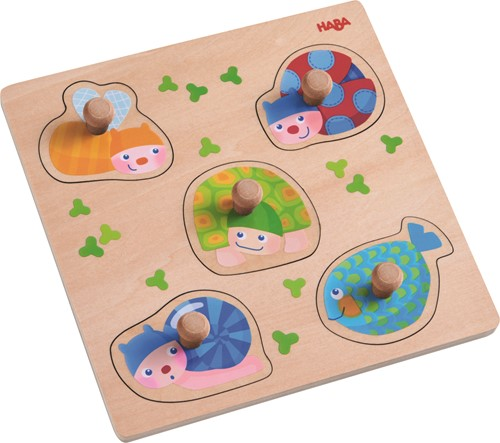 HABA Clutching Puzzle Colorful Animals
