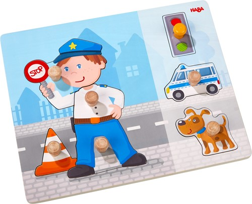 HABA Clutching puzzle Police Deployment