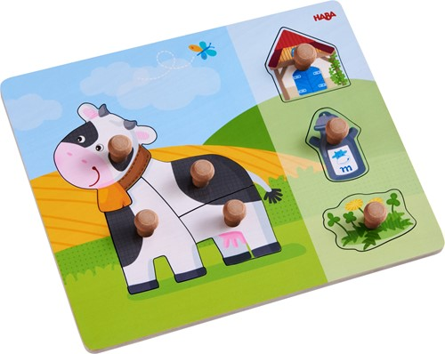 HABA Clutching puzzle Annabell the Cow