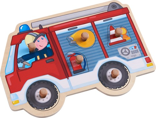 HABA Clutching puzzle Fire Engine