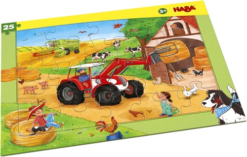 HABA Frame Puzzle Agricultural Machinery