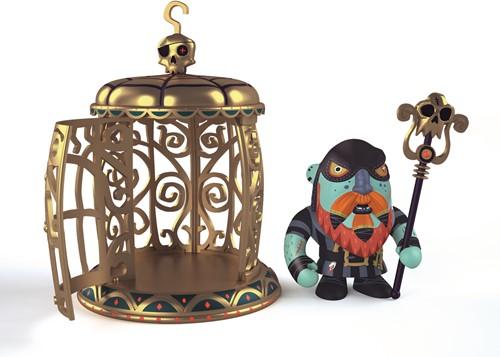 Djeco Arty Toys - Pirates Gnomus & Ze cage