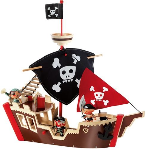 DJECO DJ06830 - Galeone dei Pirati