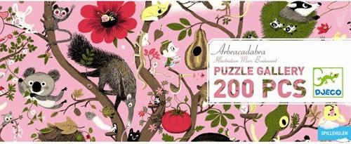 DJECO Gallery Puzzle - Arbracadabra - 200 pezzi