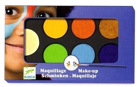 Djeco Palettes et accessoires Palette 6 couleurs - Nature