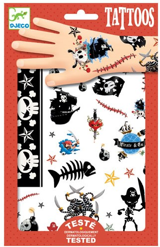 Djeco Tatouages Pirates