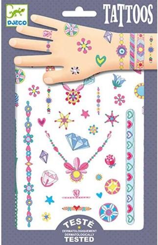 Djeco Tatouages Les bijoux de Jenni