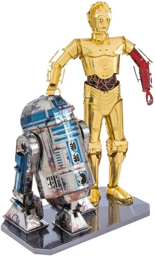 Metal Earth Star Wars R2D2 and C-3PO BOX SET