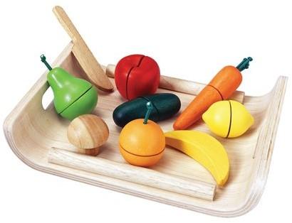 Plan Toys Fruit en Groeten set