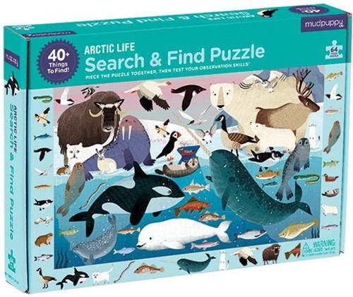 Mudpuppy Search & Find Puzzle/Artic Life