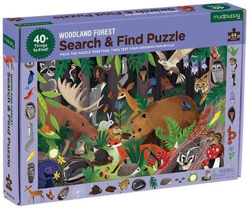 Mudpuppy Search & Find Puzzle/Woodland