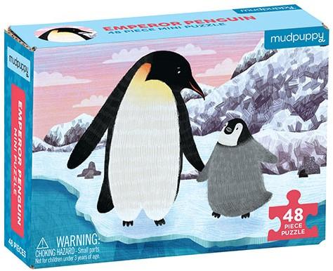 Mudpuppy Mini Puzzle/Emperor Penguin