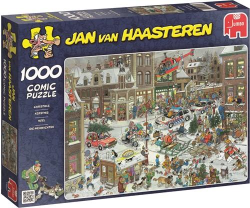 Jumbo puzzel Jan van Haasteren Kerstmis - 1000 stukjes