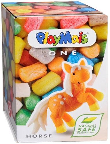 PlayMais  knutselspullen One Paard