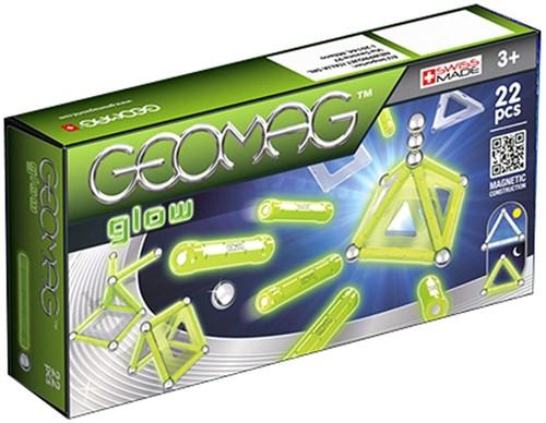 Geomag Panels Glow 22 pcs neodymium magnet toy 22 pc(s) Green