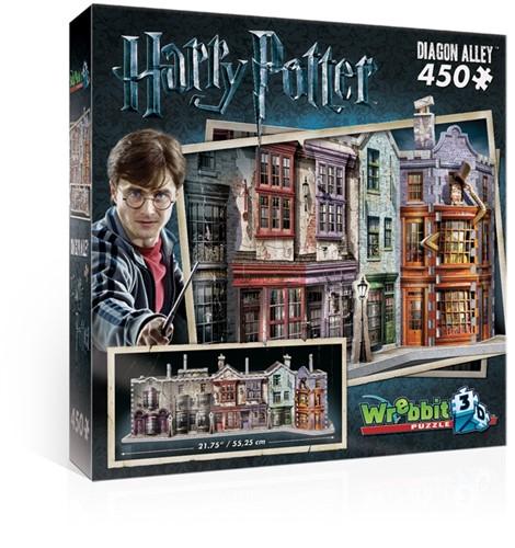 Wrebbit 3D Harry Potter Diagon Alley 450 pcs 3D puzzle
