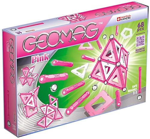 Geomag Panels Pink 68 pcs neodymium magnet toy 68 pc(s)
