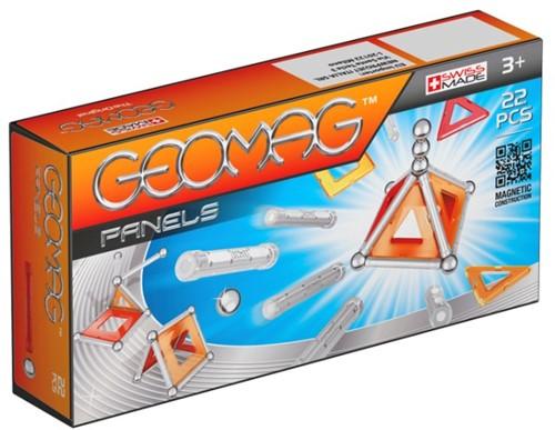 Geomag Panels 22 pcs neodymium magnet toy Multicolor