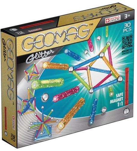 Geomag Color Glitter 30 pcs neodymium magnet toy Multicolor
