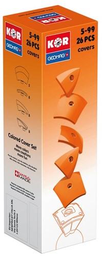 Geomag KOR 2.0 Pantone 151 Orange 26 pcs neodymium magnet toy