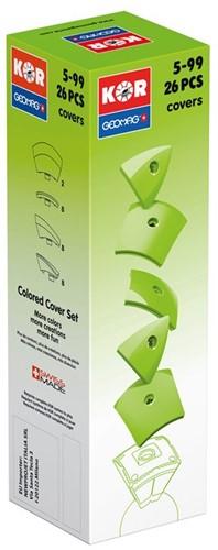 Geomag KOR 2.0 Pantone 375 Green 26 pcs neodymium magnet toy