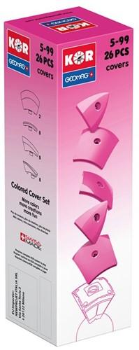 Geomag KOR 2.0 Pantone 232 Pink 26 pcs neodymium magnet toy