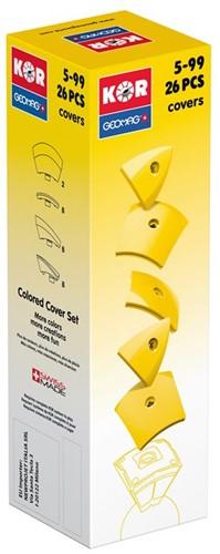 Geomag KOR 2.0 Pantone 108 Yellow 26 pcs neodymium magnet toy