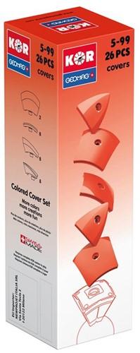 Geomag KOR 2.0 Pantone 485 Red 26 pcs neodymium magnet toy
