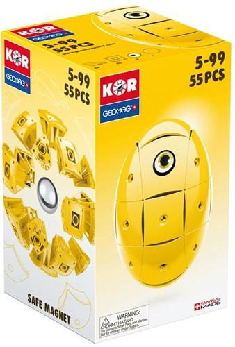 Geomag KOR 2.0 Pantone 108 Yellow 55 pcs neodymium magnet toy