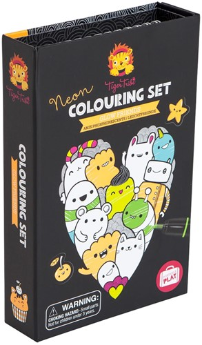 Tiger Tribe Neon Colouring Sets/Glow Friends