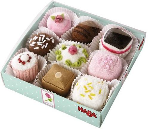 HABA Petit Fours, set of 9