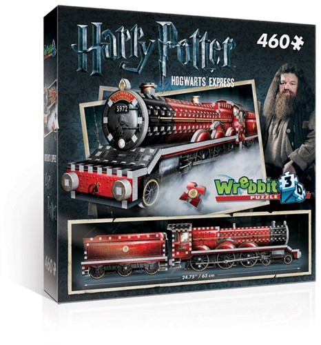 Wrebbit 3D Harry Potter Hogwarts Express 460 pcs 3D puzzle