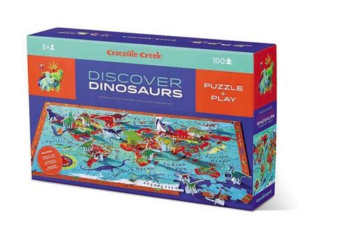 Crocodile Creek Discover Puzzle/Dinosaurs