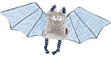 sigikid Comforter bat blue, Baby bite me!