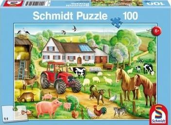 Schmidt Spiele 56003 puzzle Jigsaw puzzle 100 pc(s)