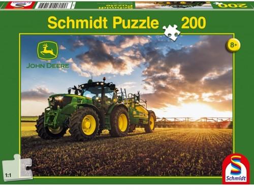 Schmidt John Deere 6150 R met slurry tanker, 200 stukjes