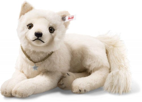 Steiff limted edition Winter fox, white