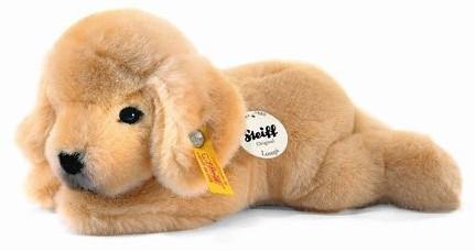 Steiff's little friend Lumpi Golden Retriever puppy