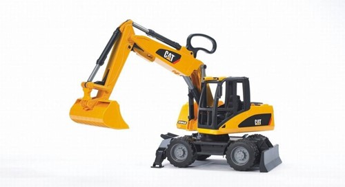 BRUDER CAT Wheel excavator toy vehicle