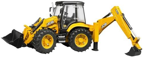 Bruder JCB 5CX eco tractor met back lader (02454)
