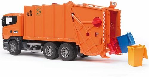 BRUDER SCANIA R-series Garbage truck toy vehicle