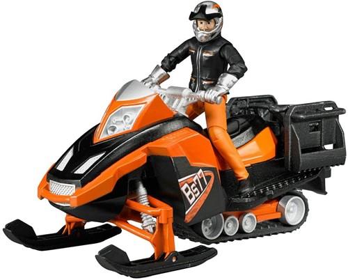 Bruder Sneeuwscooter met bestuurder en accessoires - 63101