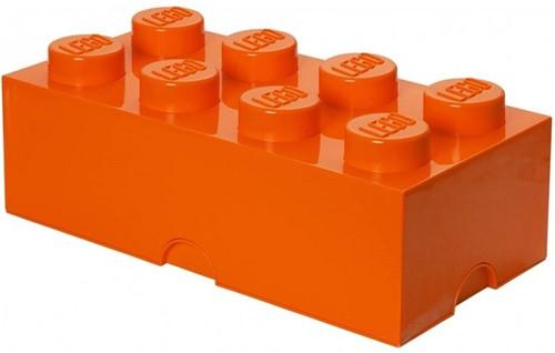 Opbergbox Brick 8 Oranje
