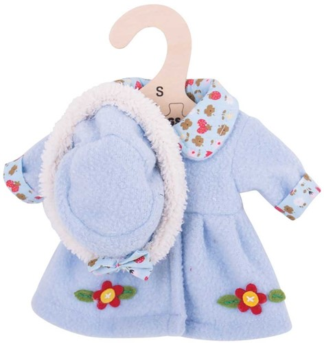 Bigjigs Blue Hat and Coat - Small