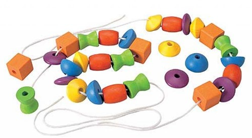 PlanToys Lacing Beads