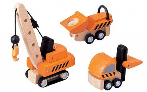 PlanToys Construction Vehicles toy vehicle