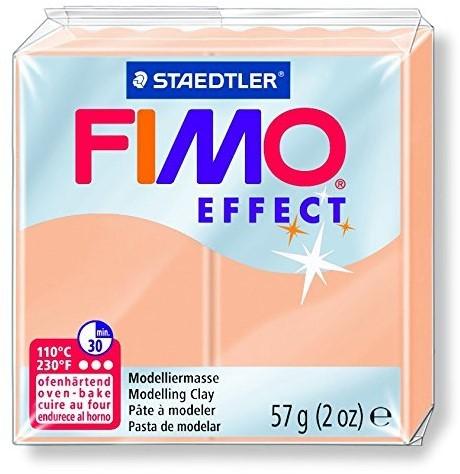 Fimo  effect klei perzik