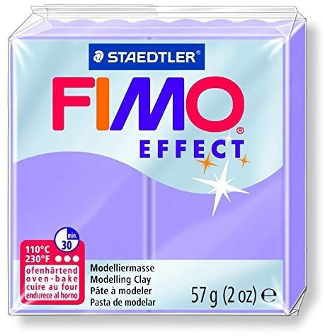 Fimo  effect klei lila