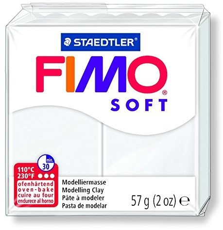 Fimo  soft klei - wit