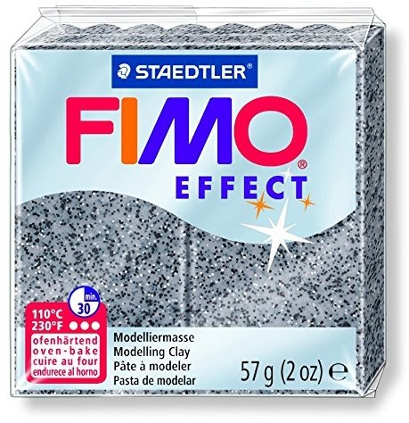 Fimo  effect klei graniet grijs